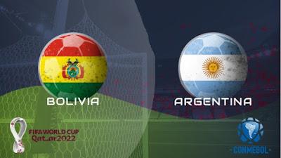 مشاهدة مباراة الارجنتين وبوليفيا 13-10-2020 بث مباشر في تصفيات كأس العالم