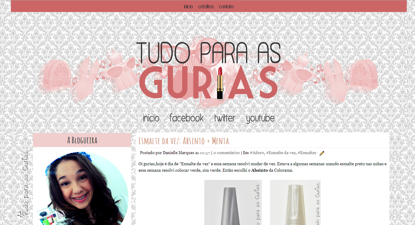 Novo Layout do Blog
