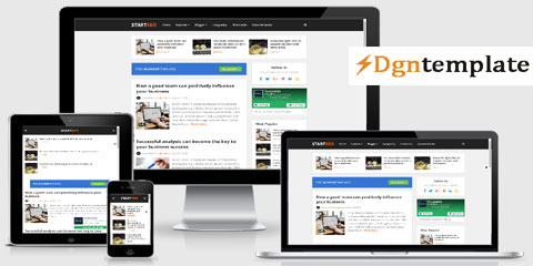 StartSEO Free Responsive Blogger Template-dgntemplate
