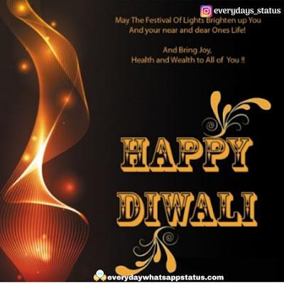 diwali greeting card | Everyday Whatsapp Status | Unique 120+ Happy Diwali Wishing Images Photos