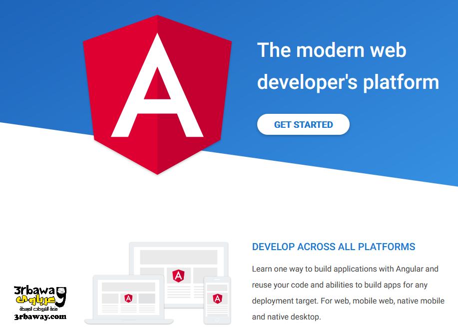 تعرف علي لغة ANGULAR لتعلم برمجة وتصميم مواقع الويب ببساطة