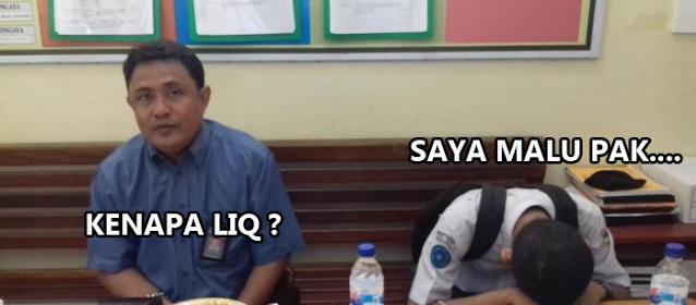 Kebohongan Alif,Ini Kronologi Siswa Keroyok Guru SMK 2 Versi Teman Kelas