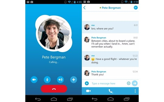 تحميل تطبيق skype للأندرويد apk,