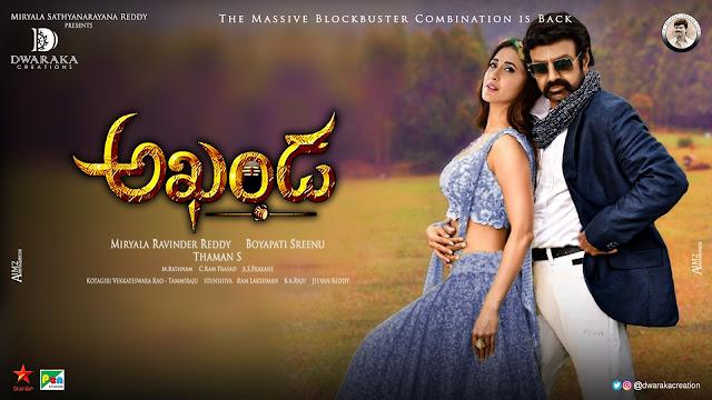 Balakrishna Pragya Jaiswal romantic akhanda movie posters _ 5