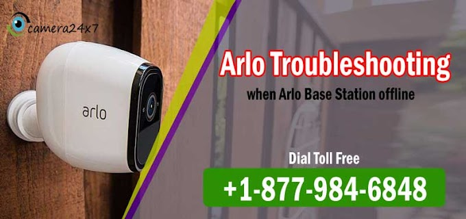 Know a few Arlo TroubleShooting steps of Arlo Camera and its Base Station