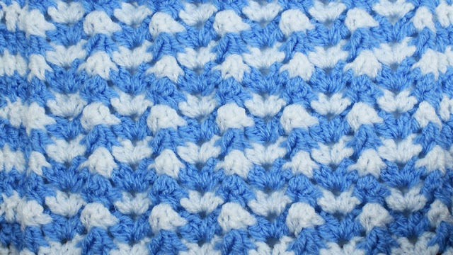 1 - Crochet Imagen Puntada de ondas a crochet y ganchillo por Majovel Crochet