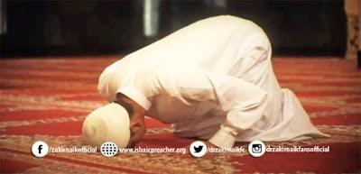 NO FOCUS IN PRAYER.