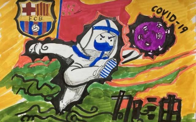 Pemain Barcelona Diklaim Positif COVID-19