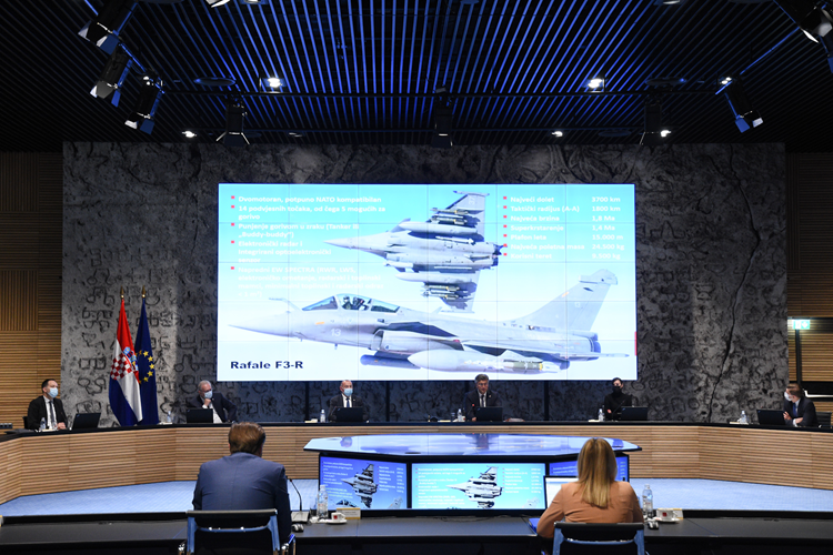 Уряд Хорватії схвалив закупівлю винищувачів Rafale