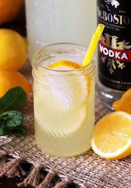 Homemade Hard Lemonade with Vodka Image