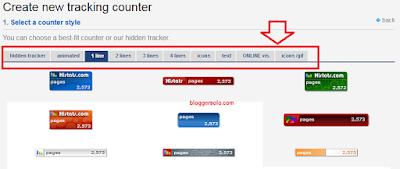 cara memasang widget histats di blog