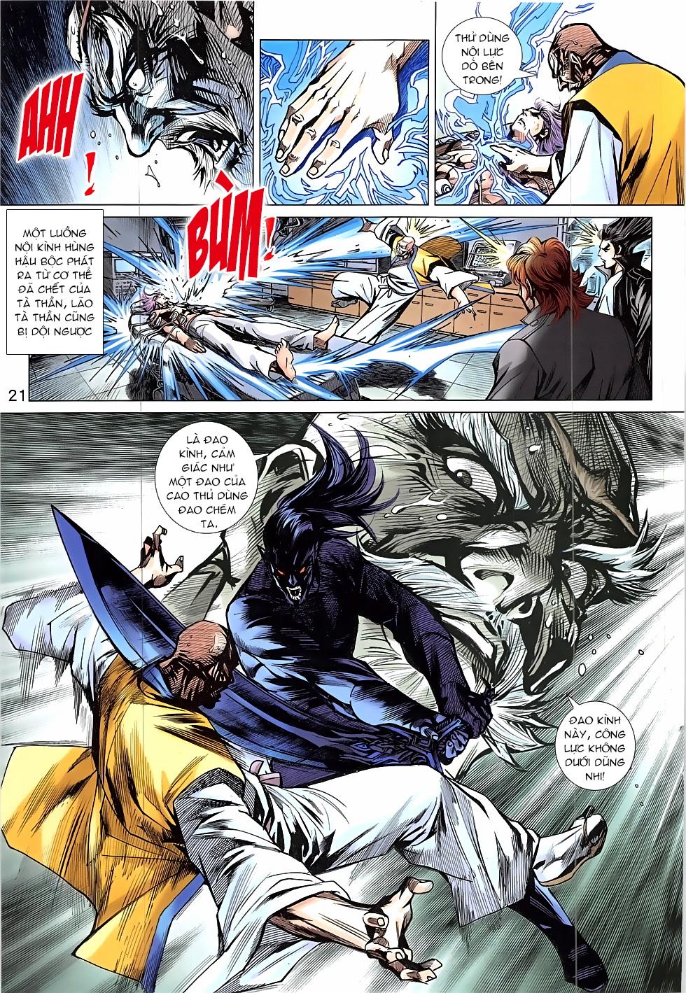 Tân Tác Long Hổ Môn Chap 837 page 21 - Truyentranhaz.net