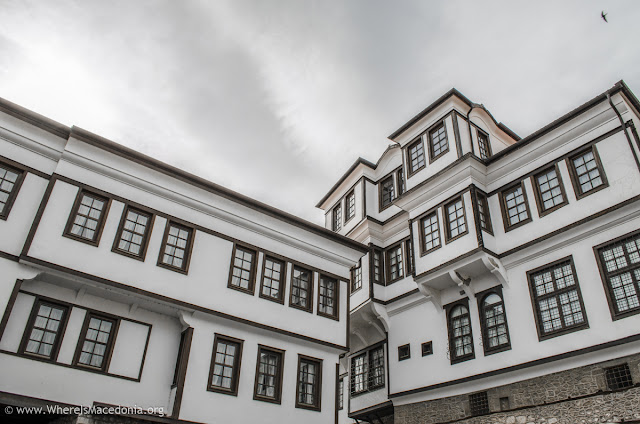Architecture - old town Ohrid, Macedonia