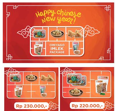 Paket Chinese New Year dari Omiyago