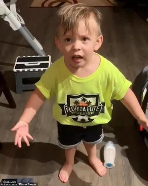 طفل غاضب لكرامته يخطف قلوب الإنترنت.. هكذا عاتب أمه على تصرفها البشع