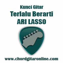 Kunci Gitar TERLALU BERARTI By ARI LASSO Kunci Gitar ARI LASSO - TERLALU BERARTI
