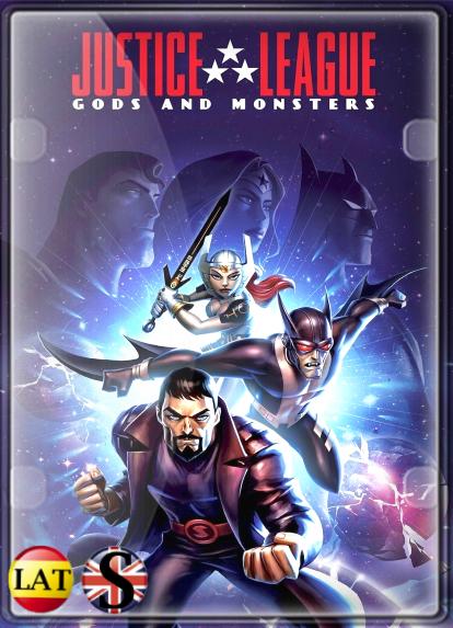 La Liga de la Justicia: Dioses y Monstruos (2015) HD 1080P LATINO/INGLES