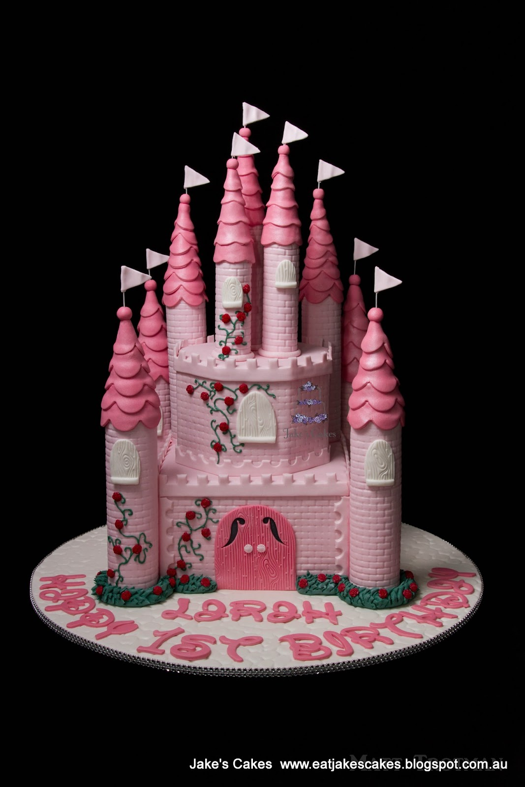 Jake S Cakes Princess Castle Cake