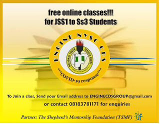 NYSC ENGINE CDS Group Free Online Classes [JSS1 - SS3]