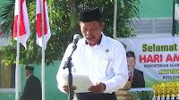 <b>Upacara Puncak HAB ke-72 tingkat Kota Bima Berlangsung Lancar dan Hikmat</b>