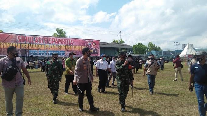 Pengamanan Pemilu Kada Kabupaten Jember Terapkan Protokol Covid-19 ,Utamakan Kesehatan Masyarakat Lebih Utama