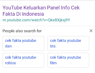 """YouTube Indonesia """"Cek Fakta"""" di konten berita, ketahui cara kerjanya"""