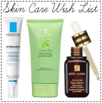 Skin Care Wish List featuring La Roche-Posay, Ginvera, Estee Lauder