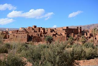 une kasbah à Tineghir