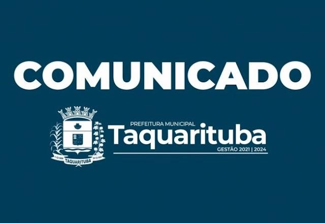 Prefeitura de Taquarituba quer te ouvir