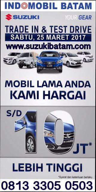 TRIDE IN & TES DRIVE ( SHOWROOM EVENT) MOBIL LAMA ANDA KAMI HARGAI S/D 10 JUTA LEBIH TINGGI