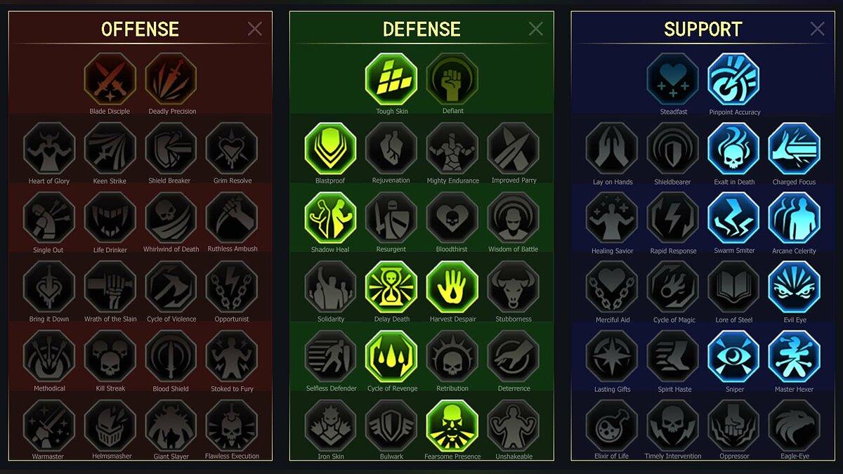 Faction War Build