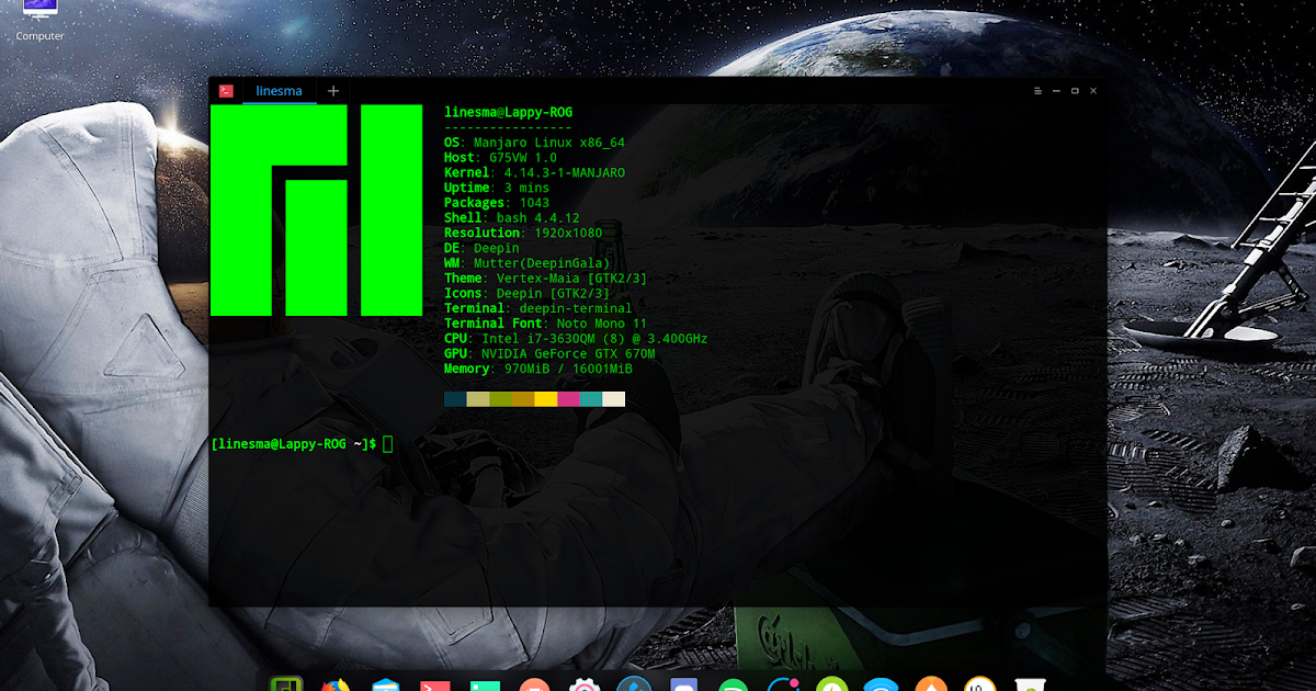 Did a review of Manjaro Deepin for my blog - Coverage and