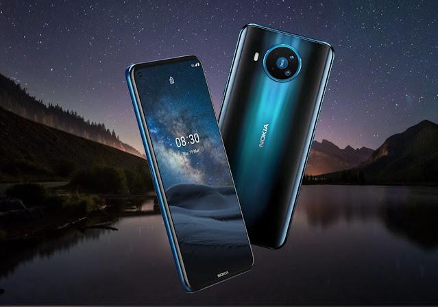 Spesifikasi Nokia 8.3 5G