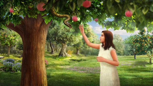 神的公義, 識破撒但詭計, 蛇引誘夏娃