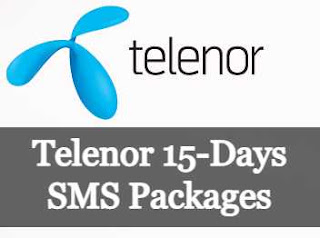 Telenor 15-Days SMS Packages