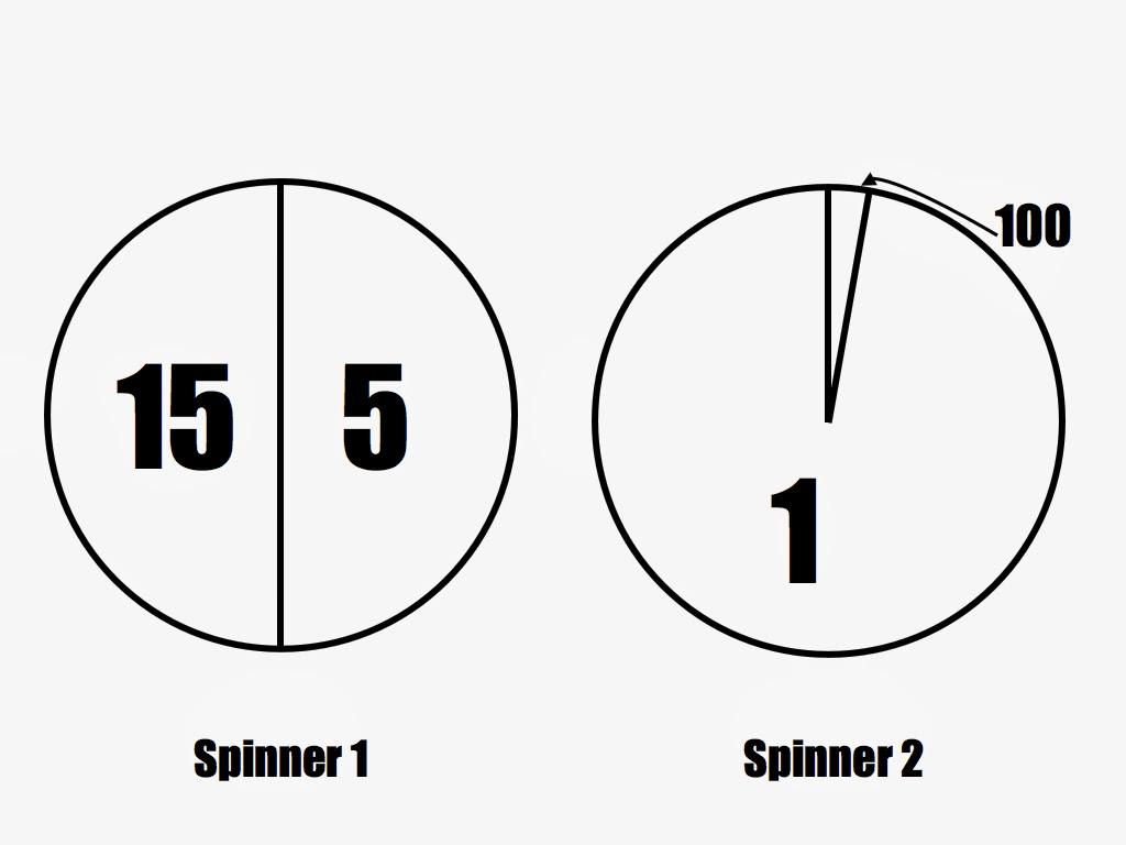 worksheet Probability Spinner Queensammy Worksheets for – Probability Spinner Worksheet