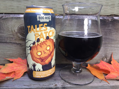 Big Rig Tales from the Patch craft beer