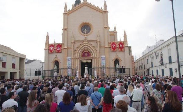 Can San Pablo open a provisional chapel without Malaga having gone to phase 1 of the de-escalation?