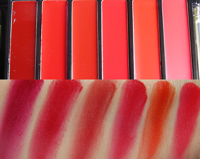 Review & Swatches: L´Oréal Color Riche La Palette Lips - Red