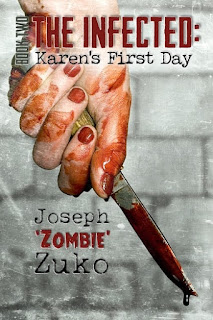 zombie apocalypse, The Infected: Jim's First Day, karen's first day, strong female characters, strong female protagonist, zombie novel, best zombie book