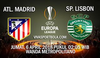 Prediksi Atletico Madrid vs Sporting Lisbon 6 Aprl 2018