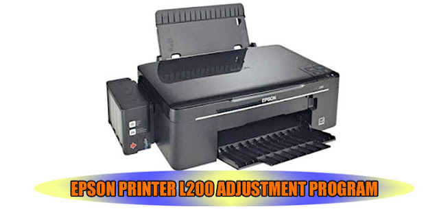 EPSON L200 PRINTER ADJUSTMENT PROGRAM