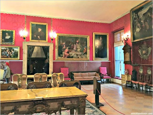 Titian Room en el Museo de Isabella Stewart Gardner en Boston