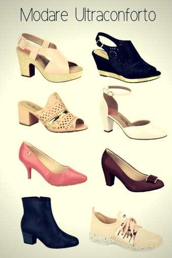 Marca de Calçados Confortáveis Femininos Modare Ultraconforto