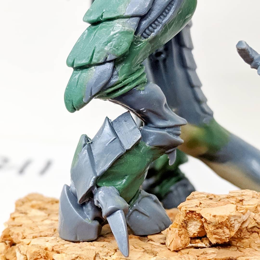 Warhammer 40K Tyranids Scything Talons Plastic Bit Set