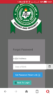 Reset jamb password