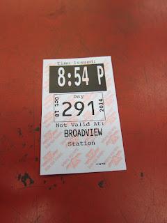Broadview station transfer
