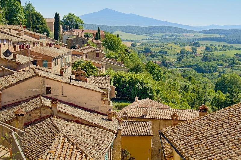 Cortona in Italy