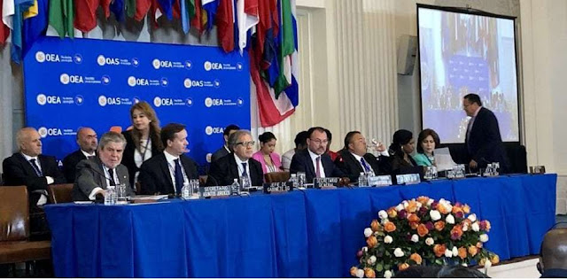 Crisis en Venezuela marca por primera vez la Asamblea General de la OEA