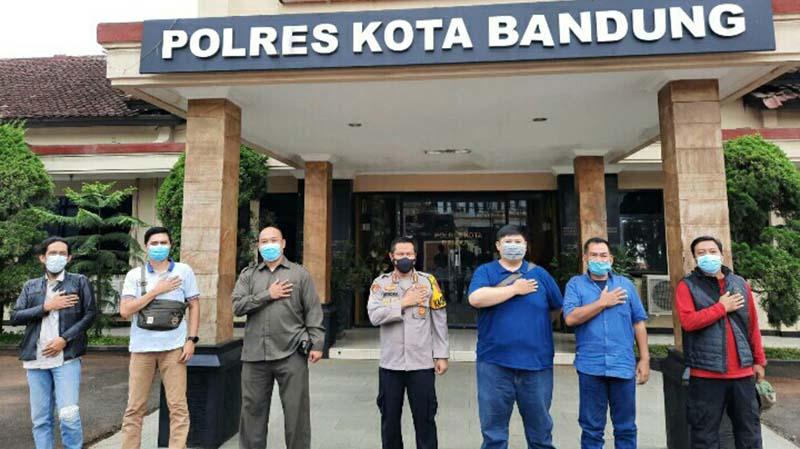 JBN Sambangi Kapolresta Bandung Kombes Pol Hendra Kurniawan